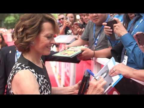 A Monster Calls: Sigourney Weaver TIFF 2016 Gala Premiere Arrival