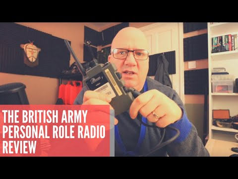 A Review Of The British Army H-4855 Personal Role Radio (PRR)