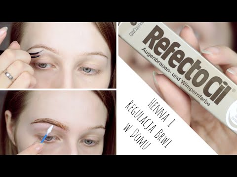 Regulacja I Henna Brwi W Domu Youtube