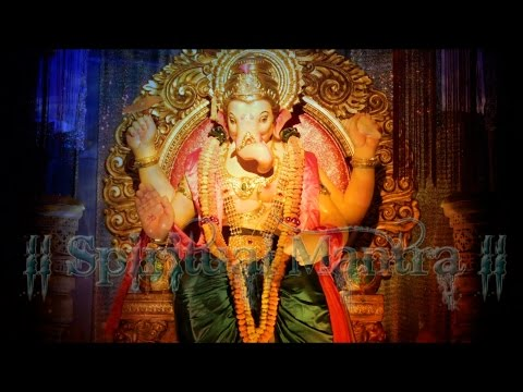 Shri Ganesh Mantra Shlok - Suresh Wadkar ( Full Song & Powerful Mantra )