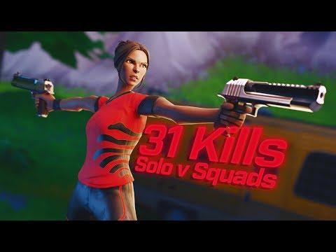 INSANE 31 KILL SOLO VS SQUADS