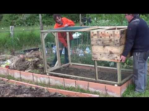 How To Make A Chicken Coop With Pallets: Model SiSi    The Huertina De Toni