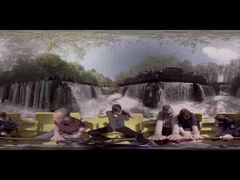 360° Alton Towers Resort Congo River Rapids footage