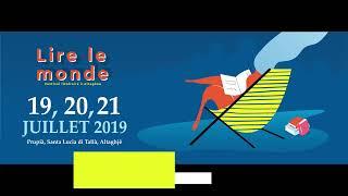 Alain Mabanckou invité en Corse le 20 juillet 2019