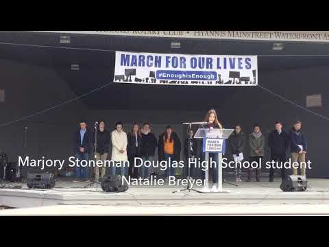March for Our Lives rally in Hyannis