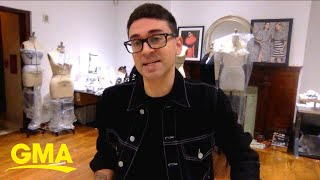 Christian Siriano shares what inspired him to support the medical community l GMA