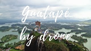 Guatapé by drone -