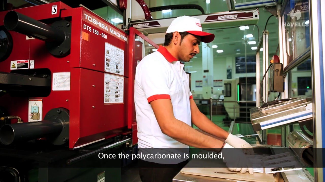 havells baddi - switches, electrical wiring accessories manufacturing plant  - youtube