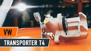 Jak vyměnit přední brzdový třmen na VW TRANSPORTER T4 [NÁVOD]