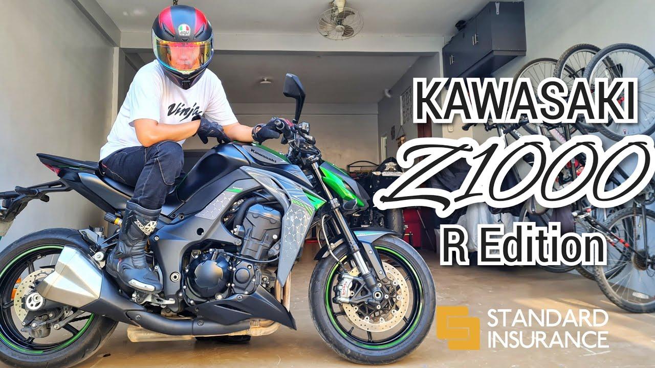 So Gusto Mo ng Kawasaki Z1000 R Edition? | Full Review, Sound Check, First Ride | PH