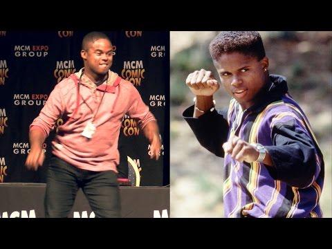 Mighty Morphin Black Ranger Walter Jones Dances Live at Comic Con!