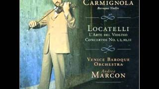 Locatelli- Concerto No. 2 in C Minor op. 3 - Andante [Giuliano Carmignola: Violin]