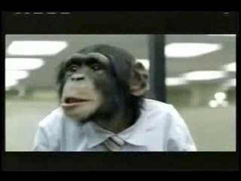Career Builder Monkeys Super Bowl XL Commercial
