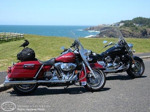 2006 Harley Road King vs Yamaha Royal Star - MotoUSA