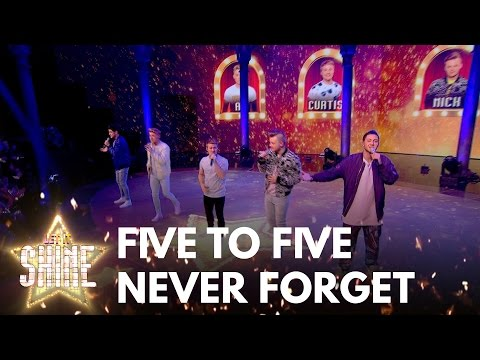 Five To Five perform Take That's 'Never Forget' - Let It Shine 2017 - BBC One