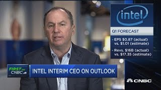 Intel's interim CEO: The shutdown and US-China trade war curtail consumer and business spending