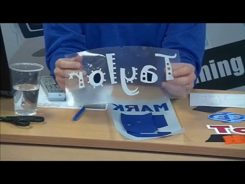 Stahls Creating Apparel Using Laser Cutting System