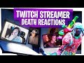 KILLING FORTNITE TWITCH STREAMERS with REACTIONS! - Fortnite Funny Rage Moments ep14