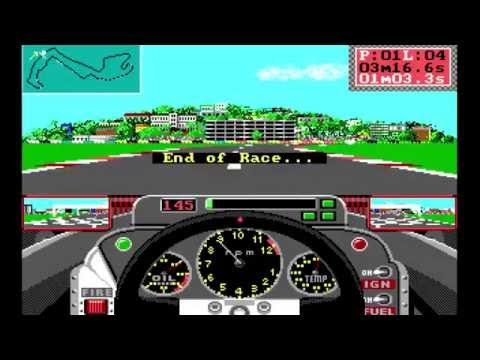 Grand Prix Circuit DOS PC Game [Let