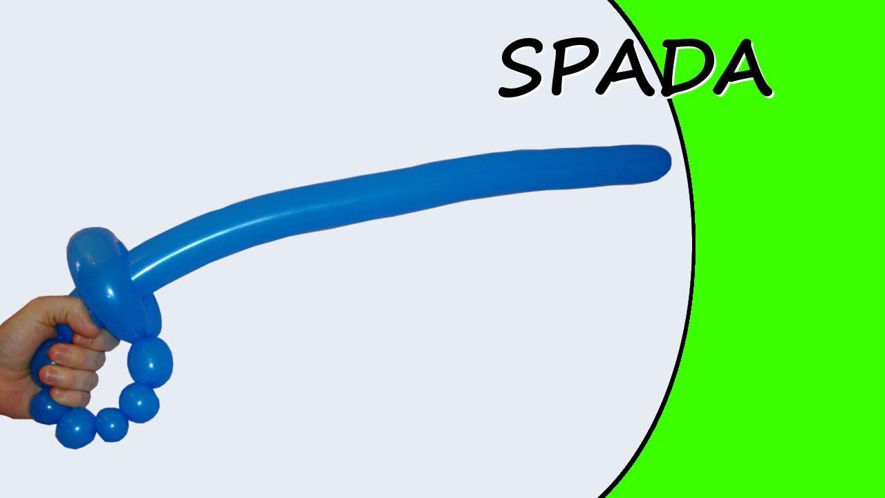 Palloncini Modellabili La Spada Spada Da Corsaro Youtube