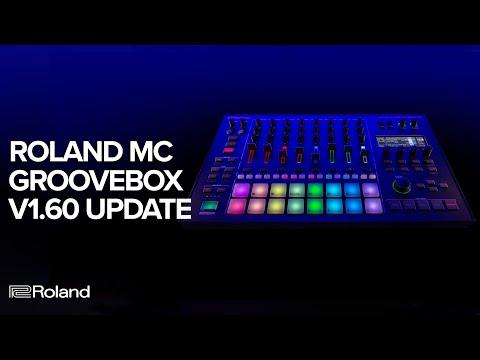 Roland MC-101 & MC-707 GROOVEBOX v1.60 Update: Arpeggiator, Random Tone Generator and more