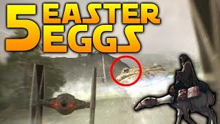5 EASTER EGGS YOU MIGHT HAVE MISSED - Star Wars Battlefront 2 thumbnail
