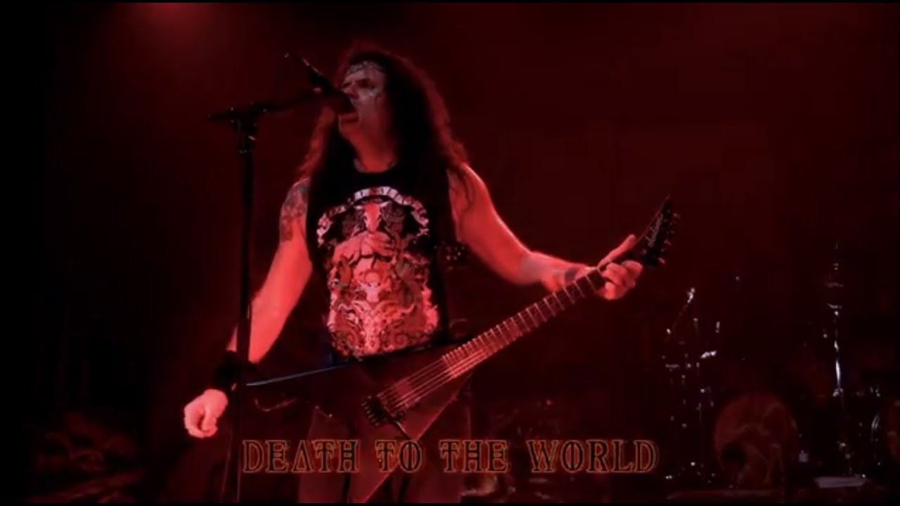 KREATOR - Death To The World Dying Alive DVD (OFFICIAL LIVE)