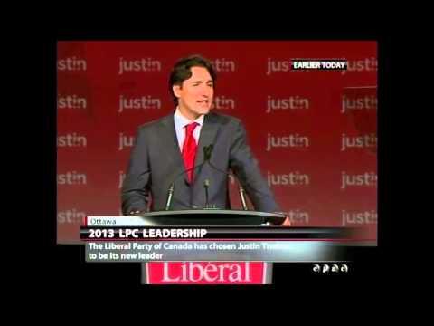 Justin Trudeau Full Liberal Leadership Acceptance Speech