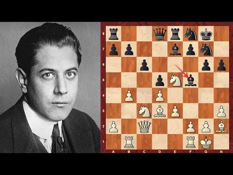 Pawn structure: How to play a minority attack : Capablanca vs Golombek : Margate (1939)