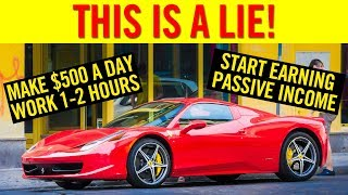 3 PASSIVE INCOME LIES YOU BELIEVE ❌