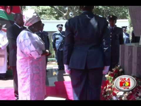 Kibaki leads Kenyans at 34th Memorial of founding President