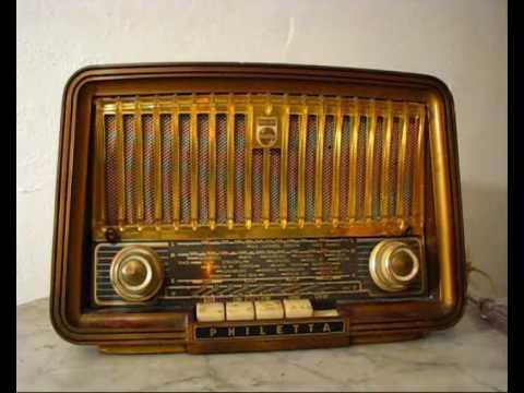 راديو قديم زئبق احمر