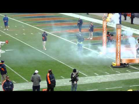 Denver Broncos - Opening ceremony