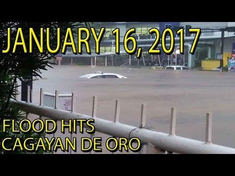 Cagayan De Oro Flood Footages January 16, 2017, Baha Sa Cagayan De Oro Flood