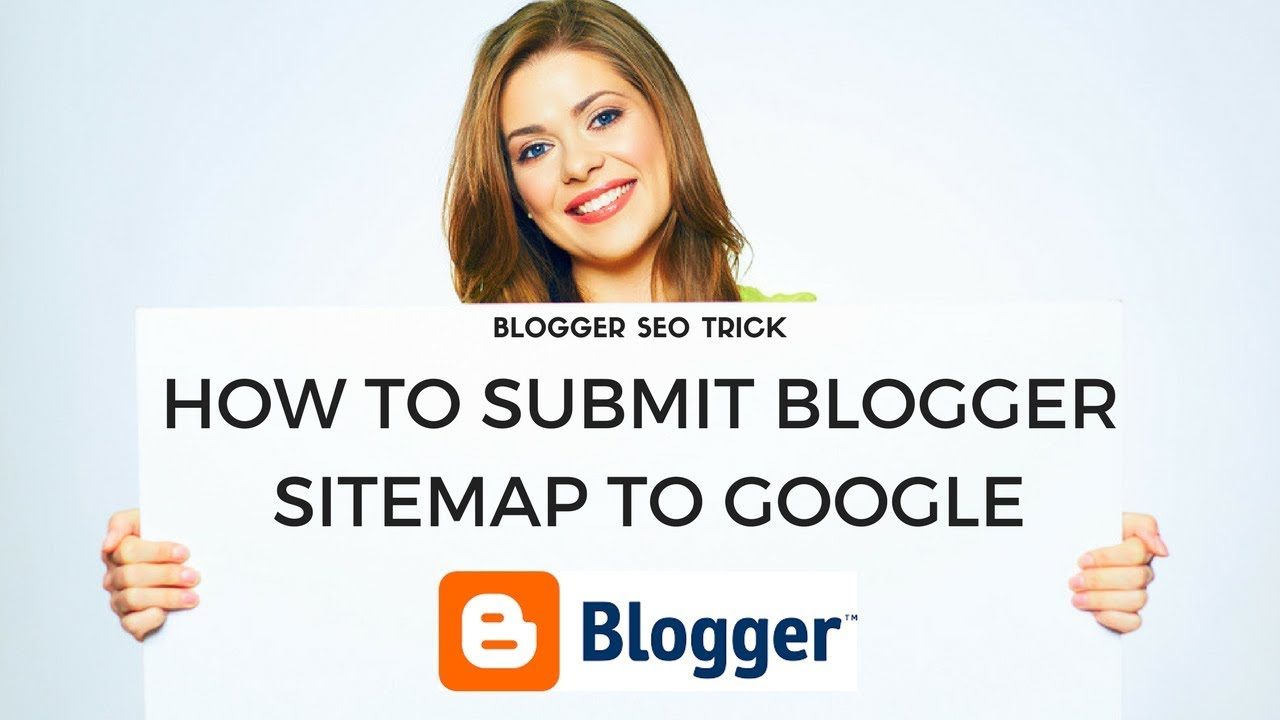 how to submit blogger sitemap to google webmaster youtube