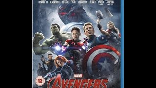 Baixar Avengers Age of Ultron Blu Ray Unboxing