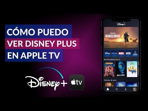 Cómo Puedo ver Disney Plus en Apple TV