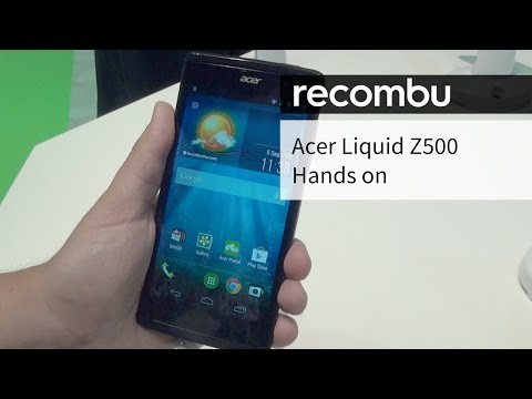 Acer Liquid Z500 hands-on review