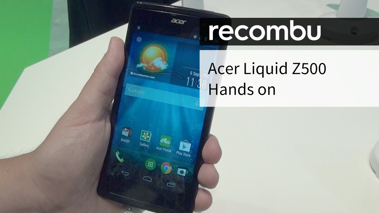 Acer Liquid Z500 Hands On Review