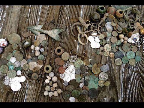 Craziest Metal Detecting Video! Colonial Merchant Site Coin Madness!!!!!!