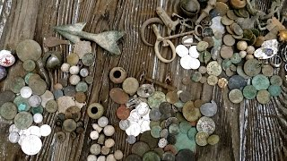 craziest metal detecting video colonial merchant site coin madness