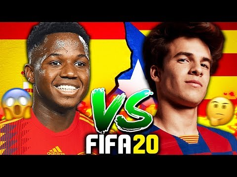 WHAT IF SPAIN AND CATALONIA SPLIT?!? FIFA 20 Career Mode Experiment