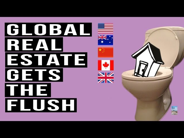 Global Real Estate Prices DROP! Worst Slowdown Since Financial Crisis!