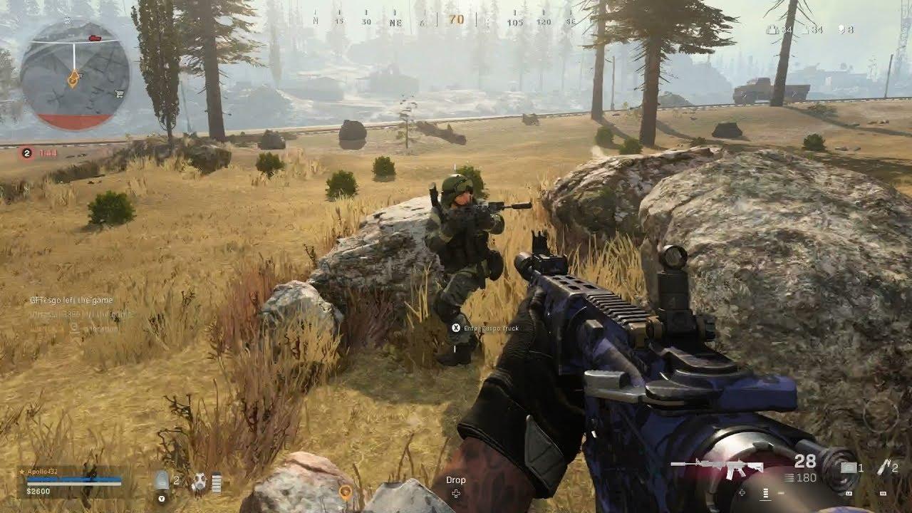 Call Of Duty Modern Warfare Warzone Battle Royale Solo Gameplay