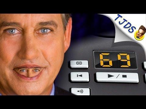 John Boehner Voicemail: Glows Over Obama Scandals (TJDS)