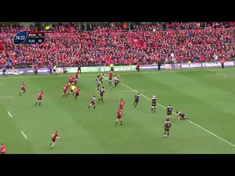 Andrew Conway try - Munster Vs Toulon - 31.03.18 - Michael Corcoran commentary