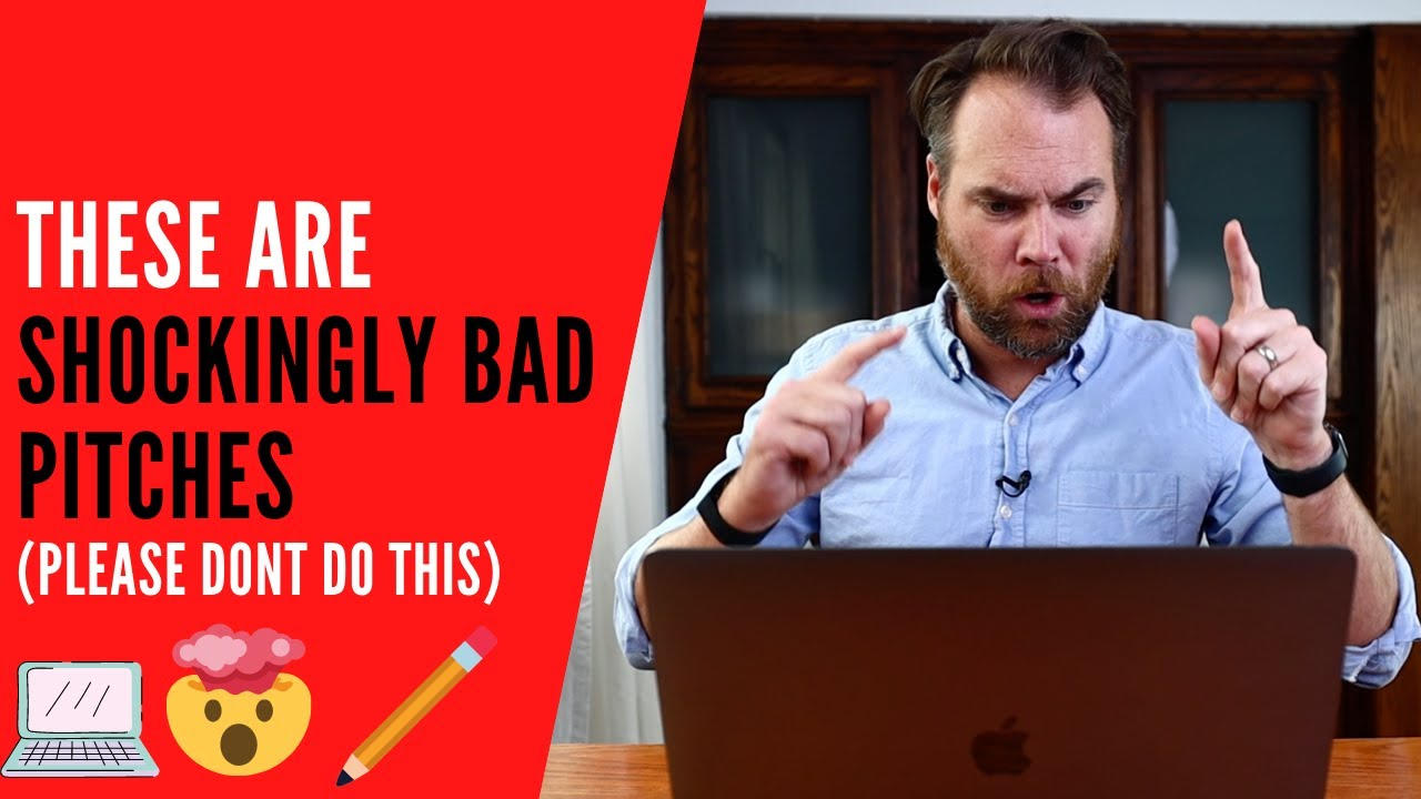 The WORST FREELANCE PITCHES I've Ever Received (and How to Fix Them)