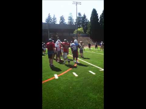 Trench camp (Steven Barfield) 10th grade
