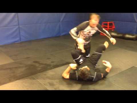 Kimura Sweep and Toe Hold from Bottom Half Guard- Jason Armstrong(Gracie South Jiu Jitsu)