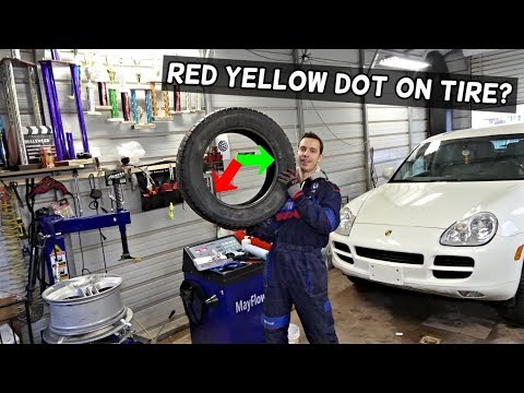 WHAT RED AND YELLOW DOT MEANS ON TIRES  WHERE TO PUT RED DOT ON WHEEL